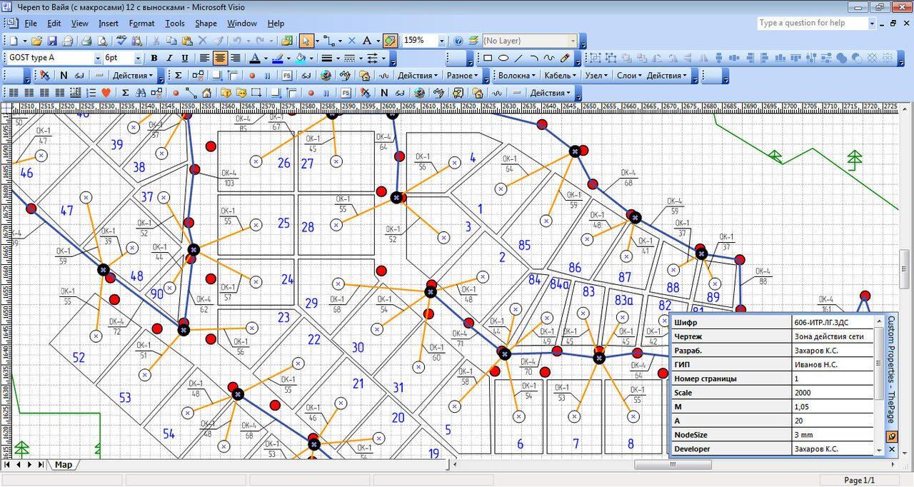 Проектирование PON сетей