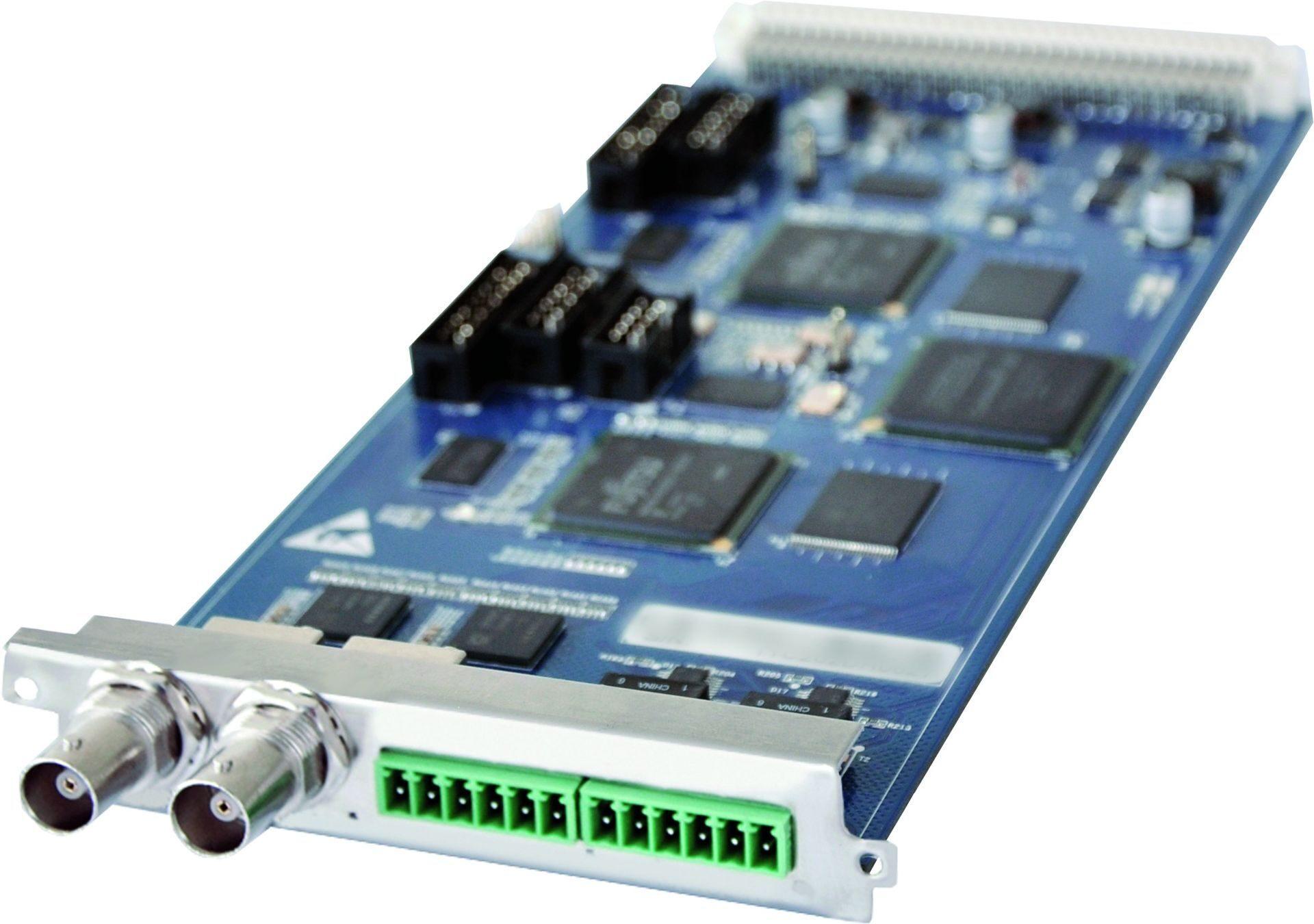 M2M4SAEN - 2-канальная карта SD-CVBS аналогового кодера MPEG2/H.264