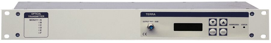 Оптический передатчик TERRA MOS211D