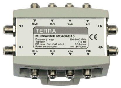 Мультисвитч TERRA MS404 (снят с производства)