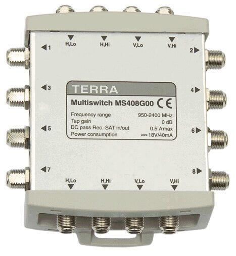 Мультисвитч TERRA MS408 (снят с производства)