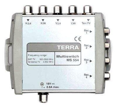 Мультисвитч TERRA MS554Р