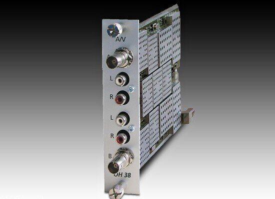Двухканальный A/V-модулятор WiSi OH38