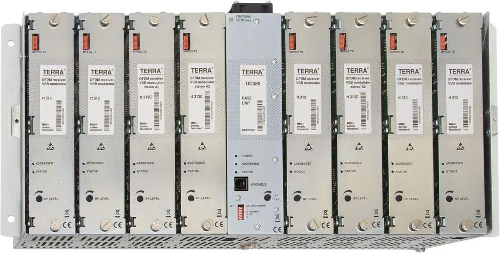 Головная станция TERRA MMH DVB-S/S2 -> DVB-T