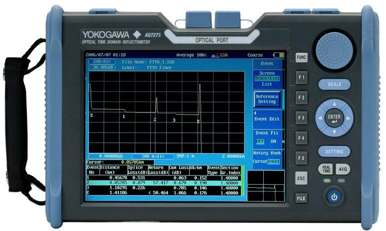 Рефлектометр оптический Yokogawa AQ7275 735033